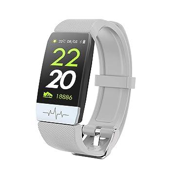 FSDRFRF Reloj Inteligente Smart Watch ECG + PPG Impermeable ...