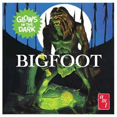 AMT Bigfoot Snap Together 1/7 Scale Figure Model Kit