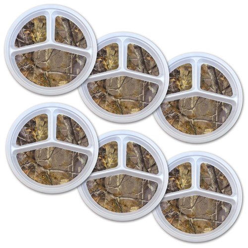 DII Melamine Realtree Portion Camping