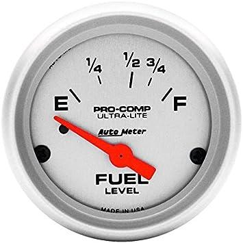 AutoMeter 880243 Jeep Electric Fuel Level Gauge