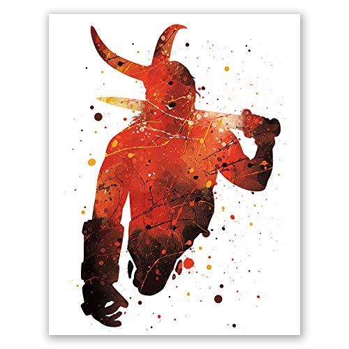 Hellboy Poster – Superhero Wall Art Print –