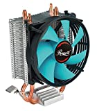 CPU Cooler with PWM CPU Cooling Fan & 2 Direct Contact CPU Heatsink Pipes Support Intel i3/i5/i7 CPU Socket LGA 775/1366/1150/1151/1155/1156 & AMD CPU FM1/FM2/FM2+/AM2/AM2+/AM3/AM3+/AM4