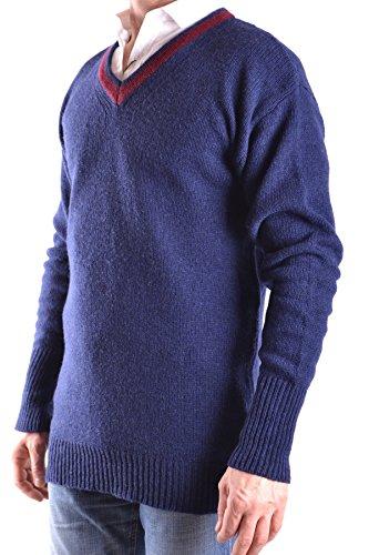 Daniele Alessandrini Homme MCBI086524O Bleu Laine Maille