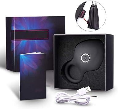 Tiempo de timbres vibrante C-Ock con silicona cepillo del Massager Fri Juguetes P-Enis anillos vibrador Silent USB puede alojar por 10 velocidades, negro, EE.UU.: Amazon.es: Salud y cuidado personal