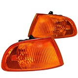 94 honda civic lx - Spec-D Tuning LC-CV923AM-RS Honda Civic Dx Ex Lx 2/3Dr Signal Corner Lights Amber