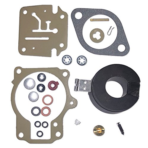 Car Kit Part Number - 396701 Carb Repair Rebuild Kit With Float Fits 35hp Johnson Evinrude Outboard