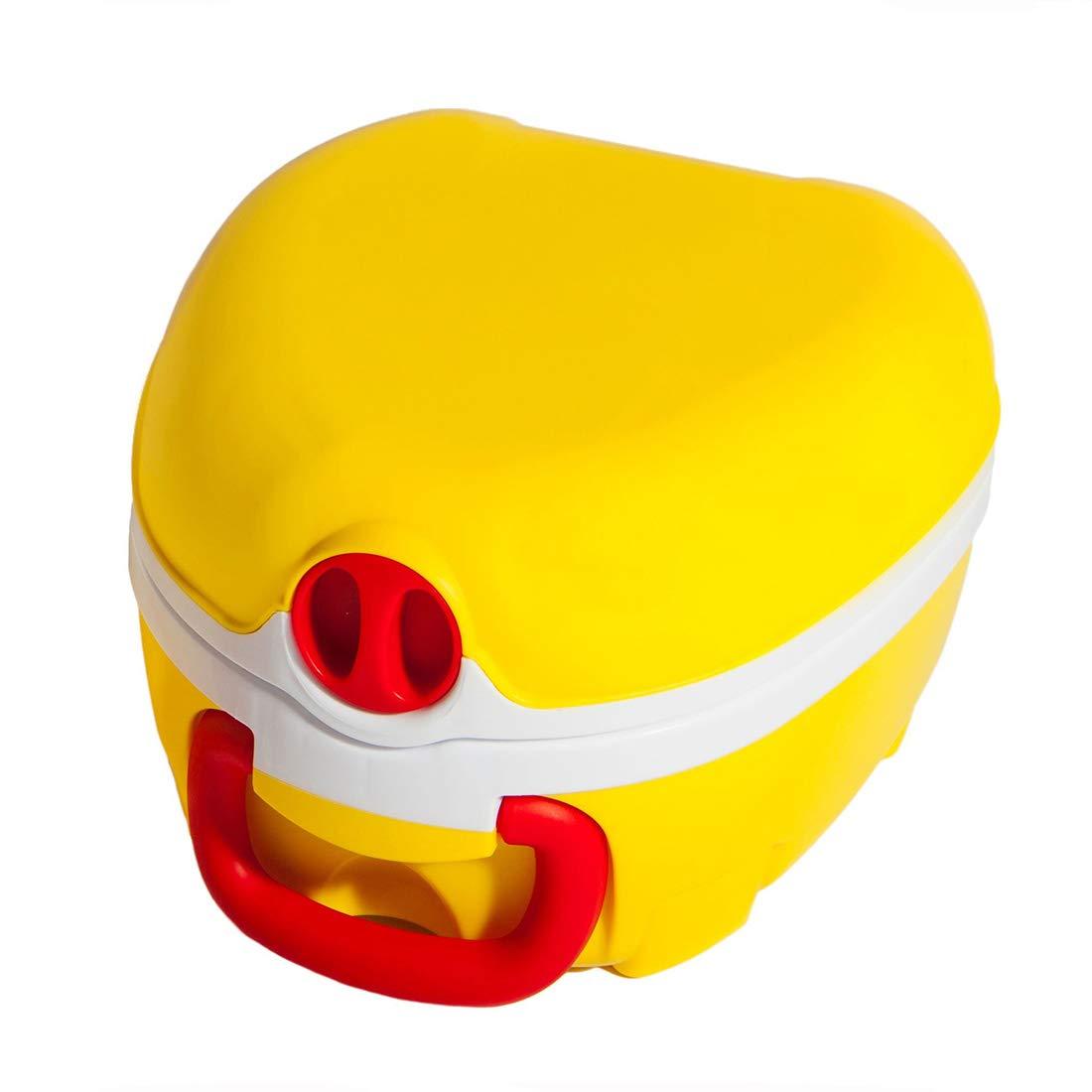 My Carry Potty T/öpfchen gelb tragbar und auslaufsicher