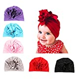 Upsmile Baby Girl Hat Newborn Hospital Hat Infant Turban Nursery Beanie Headwrap Review