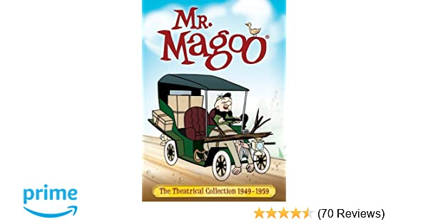 Amazon com: The Mr  Magoo Theatrical Collection (1949-1959