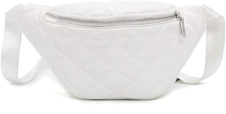 chenpaif Women Fanny Pack Chest Bags Leather Phone Pouch Belt Waist Bum Bag Waist Pocket White: Amazon.es: Hogar