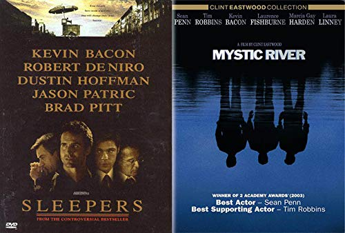 Childhood Traumas 2-DVD Bundle with Mystic River & Sleepers 2-Movie Drama Collection