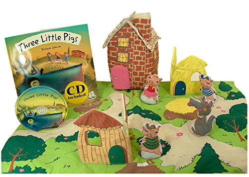 Three Little Pigs Play Set, Book, & CD