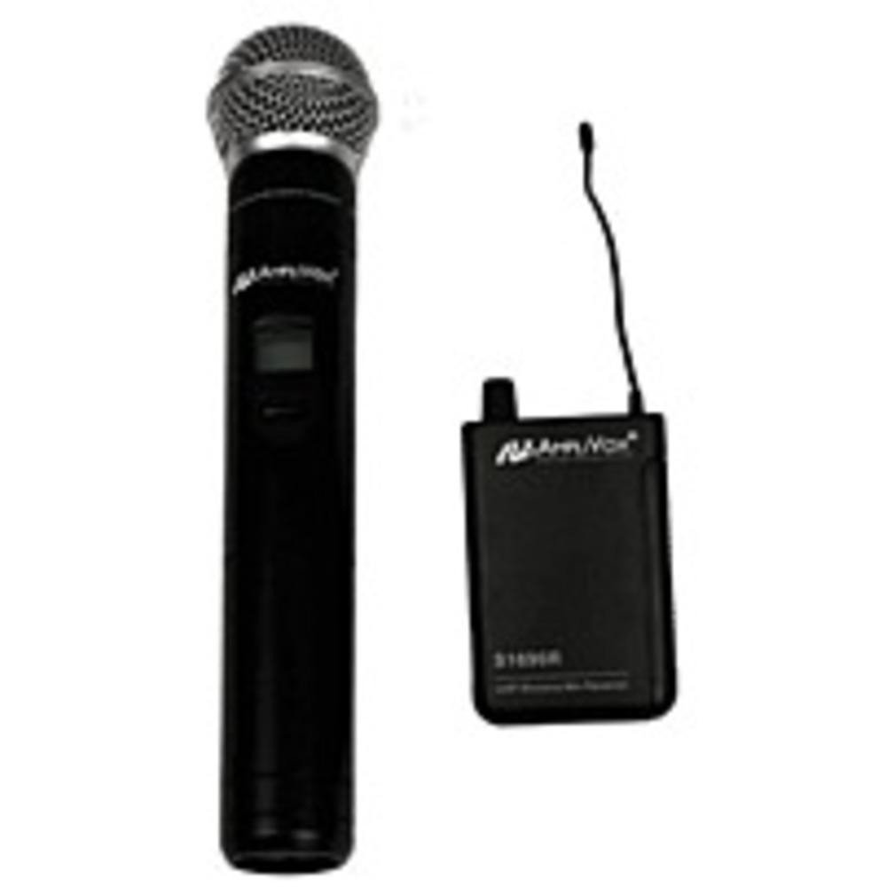 APLS1623 - Amplivox Wireless 16 Channel UHF Handheld Mic Kit