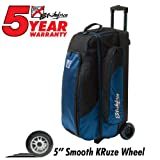 KR Strikeforce Smooth Triple Cruiser Roller Bowling Bag ()