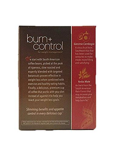 Burn + Control Weightloss Gourmet Instant Coffee by Javita - 24 Sticks, Net Wt. 3.81 Ounce by Javita