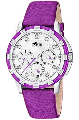 Lotus Glee Womens Analog Quartz Watch with Leather Bracelet 15746/E