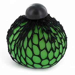 Squishy Slime Balls In Net Bag : Amazon.com: Squishy Slime Balls In Net Bag (Green) by zizzi: Toys & Games