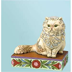 amazon com enesco jim shore heartwood creek from persian cat
