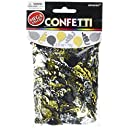 Amscan Party Balloons Black and Silver and Gold of Confetti, 2 1/2 oz., Multicolored