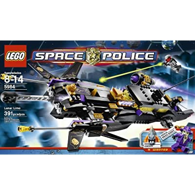 LEGO Space Police Lunar Limo 5984: Toys & Games