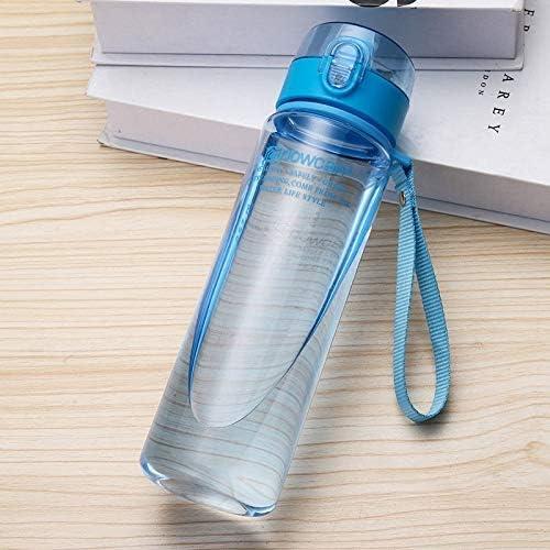 RCDD ウォーターボトル560ML 400MLプラスチックカップ、グラスツアーアウトドアスポーツスクールリーク防止シールグールドは、ウォーターボトルクライミング (色 : E, サイズ : 400ml)