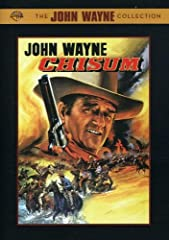 """Chisum (DVD) (Commemorative Amaray)John Wayne stars as John Simpson Chisum, """"King of the Pecos"""" and themost powerful man in 1870s New Mexico Territory in this Western looselybased on a true story.Chisum has built a cattle empire while battlin..."""