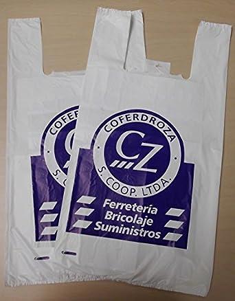 COFERDROZA - Bolsa Plastico Camiseta B/1000 Coferdroza 50X60 ...