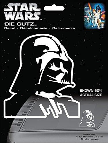 CHROMA 3940 Star Wars Darth Vader Die Cutz Decal Die Cutz Car Decal