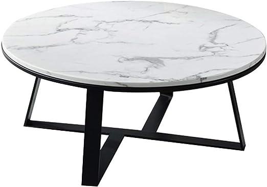 KUKU-mesas de centro Sistema de Mesa de Centro de mármol Redondo ...