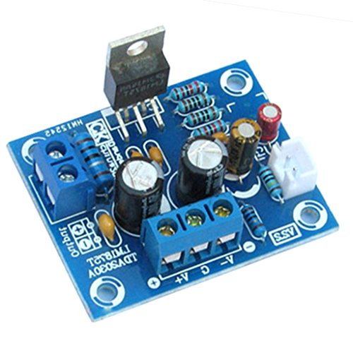 Jili Online 20W High-fidelity Amplifier Board Module DIY Kit Part Set for LM1875T Audio Power 105db Integrated Circuits Boards Modules