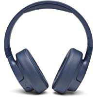 JBL JBLT750BTNCBLU JBL Wireless Over Ear Headphones with active Noise Cancellation- Blue - (Pack of1)
