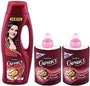 Shampoo Renovador 750mL + 2 Cremas de Peinar Renovador 150mL