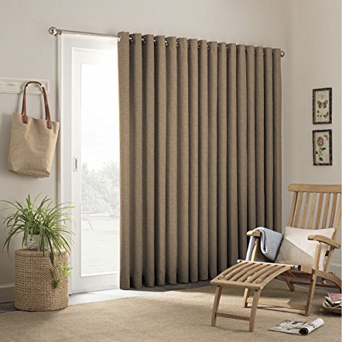 Parasol 15929100X084CAM Key Largo 100-Inch by 84-Inch Patio Indoor / Outdoor French Single Door Panel, Caramel (Curtains Sunroom)