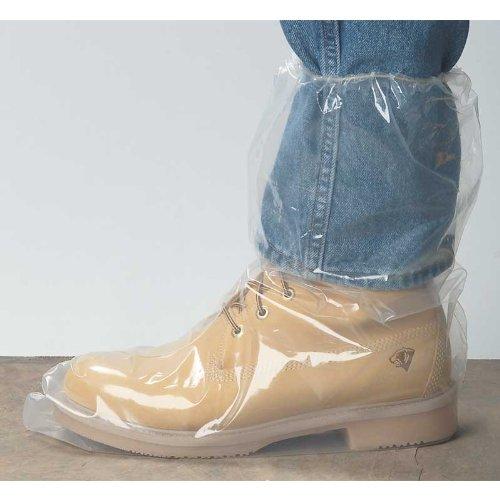 Seidman Associates BPD5-XL-5E Polyethylene Boots w/ Elastic Cuff M-XL
