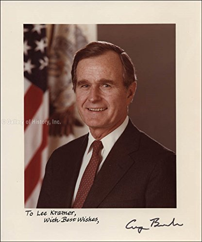 President George H.W. Bush Photograph Signed