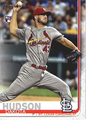 2019 Topps #697 Dakota Hudson RC Rookie St. Louis Cardinals MLB Baseball Trading Card