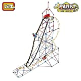 LOZ Amusement Park Game Machine Orbital Wheels Train Track Roller Coaster - 2016