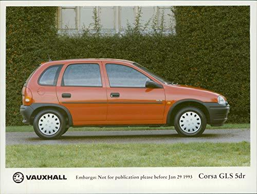 - Vintage photo of Vauxhall Motor Car: Corsa gls 5dr.