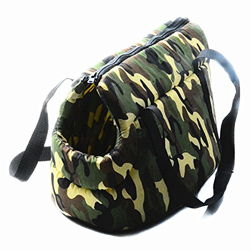Smartness Fashion Camouflage Pet Bag Single Shoulder Bag Outgoing Portable Dog Packback 5pcs in packing by Smartness