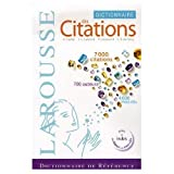 img - for Dictionnaire des Citations Francaises (French Edition) book / textbook / text book