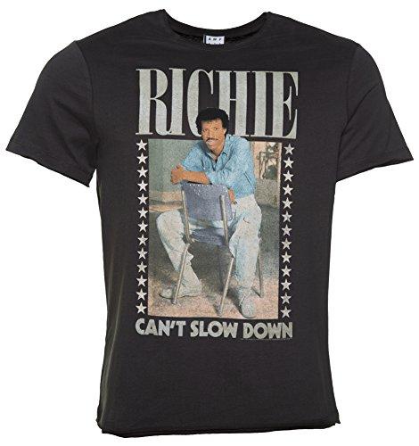 Herren Holzkohle Lionel Richie kann nicht verlangsamen T Shirt aus verstrkt