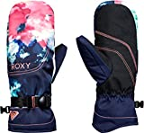 Roxy SNOW Junior's Roxy Jetty SE Mitt Gloves, Neon GRAPEFRUIT_CLOUD Nine, L
