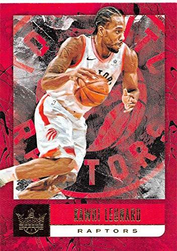 2018-19 Court Kings Basketball #8 Kawhi Leonard Toronto Raptors Official NBA Trading Card By Panini