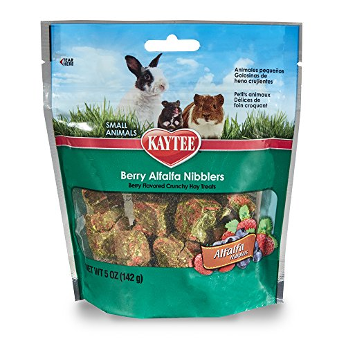 Kaytee Nibblers Berry Small Animal Treats, 5-oz bag