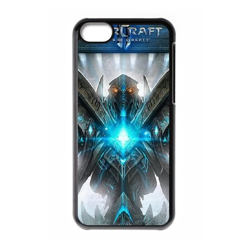Starcraft Ii Legacy Of The Void 2 coque iPhone 5c cellulaire cas coque de téléphone cas téléphone cellulaire noir couvercle EEECBCAAN01027