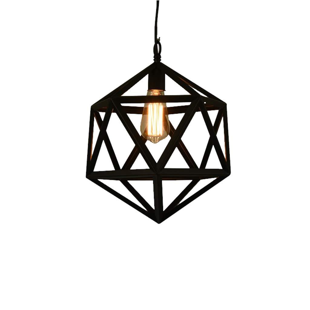 Industrieller Wind-Leuchter, Retro- kreative Schmiedeeisen-Lampen, Café-Stangen-Gang-Bar-Restaurant-Leuchter (Größe   S)