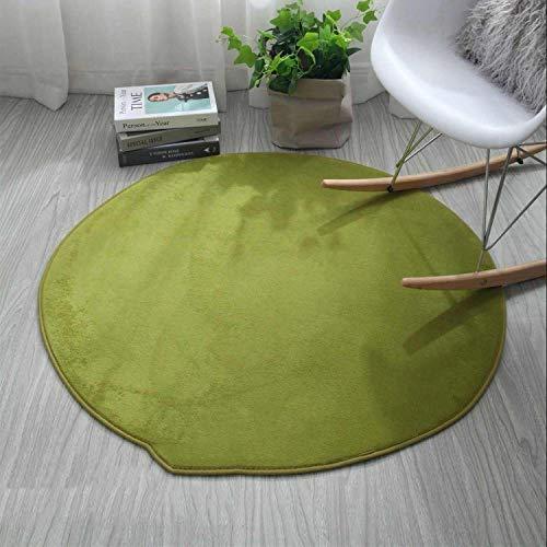 1 Piece Bathroom Carpet For Home Decor Round Chair Floor Mat Livingroom Bath Mat Rug Carpet Non Slip Bathroom Mat Pad Rugs Set,Green,400Mmx1000Mm