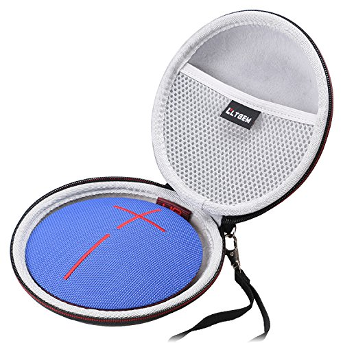 LTGEM PU Case for Ultimate Ears UE ROLL 360 or UE Roll 2 Bluetooth Speaker Fits Power Adaptoer and USB Cable Together