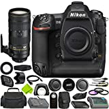 Nikon D5 DSLR Camera (Body Only, Dual CF Slots) + Nikon AF-S NIKKOR 70-200mm f/2.8E FL ED VR Lens Bundle