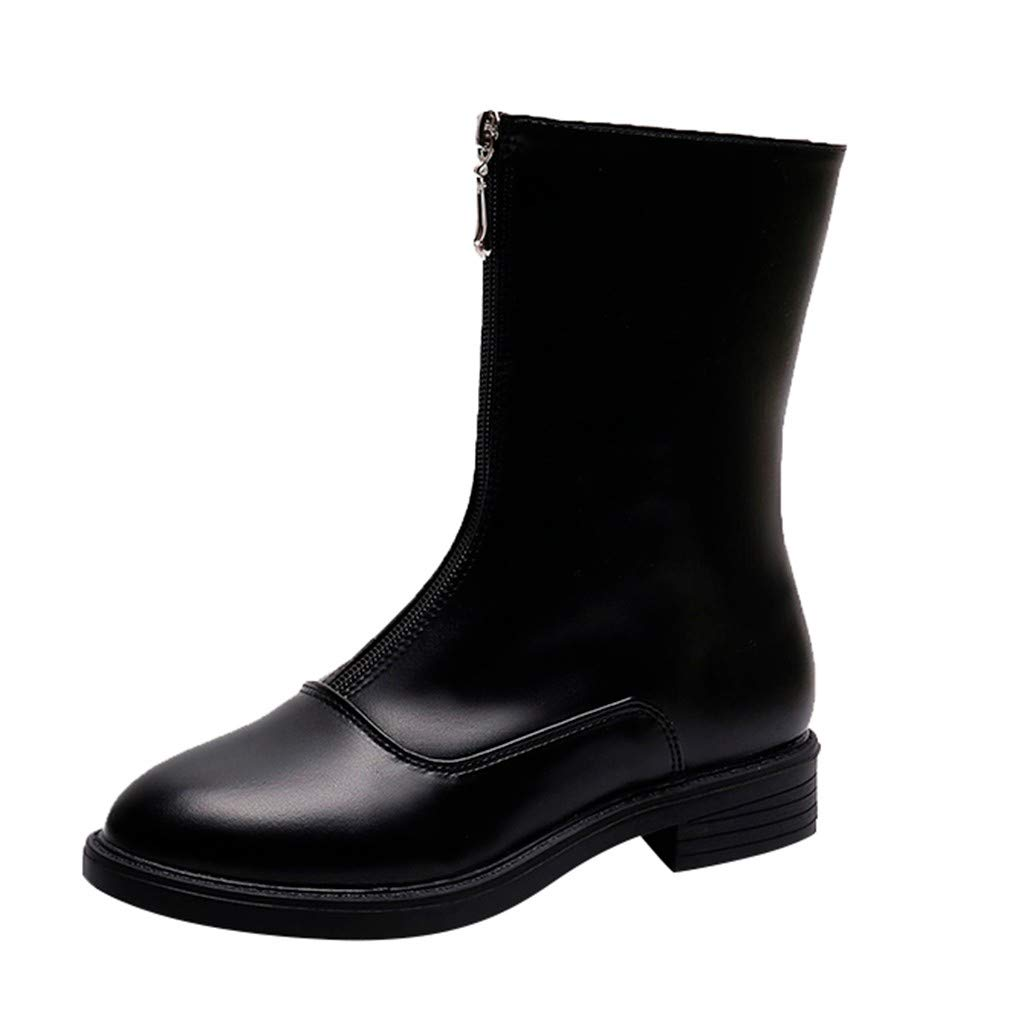Mode Damen Reine Farbe Booties Damen Schuhe, Frauen Knöchel